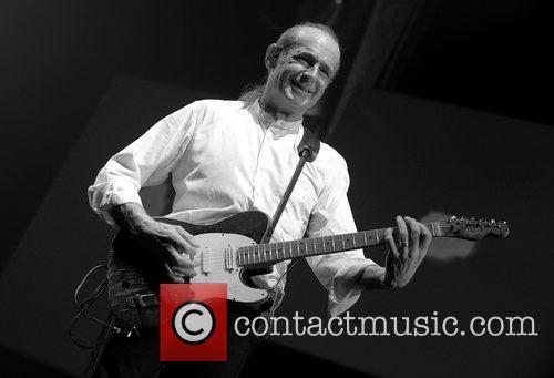 Francis Rossi of Status Quo performing in concert...