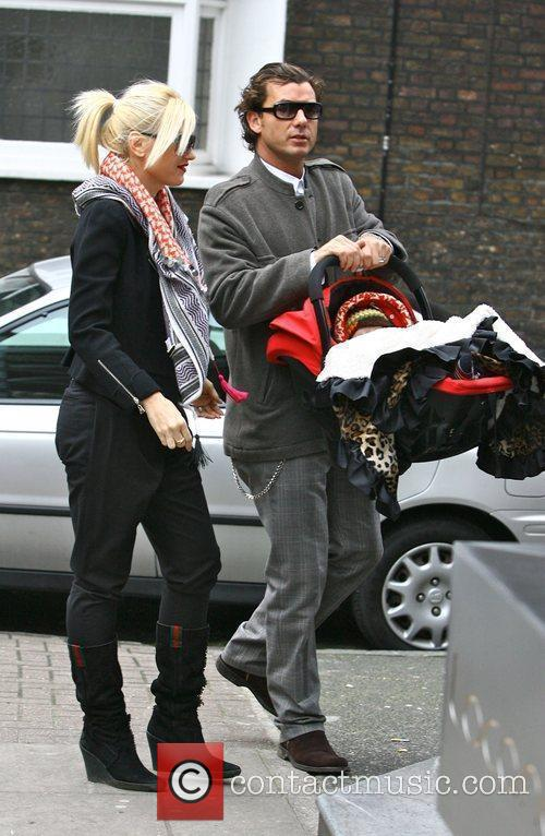 Gwen Stefani and Gavin Rossdale go for lunch...