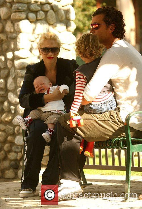 Gwen Stefani and Gavin Rossdale take baby Zuma...