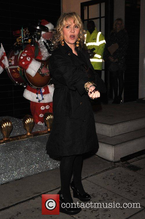 Switching on the Christmas lights at Stella McCartney's...