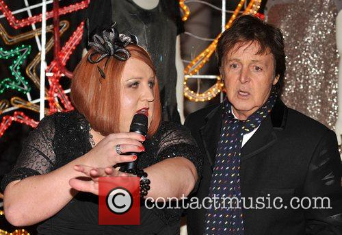 Peter Kay and Stella Mccartney 1