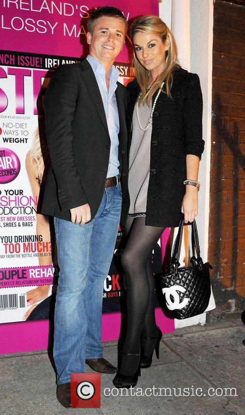 Brian Ormond, Pippa O'Connor Launch of new glossy...