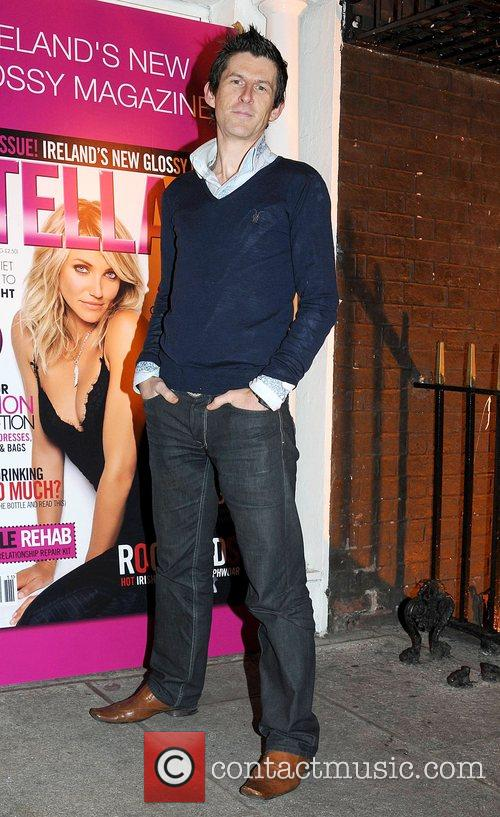 Michael Hayes Launch of new glossy magazine 'Stellar'...