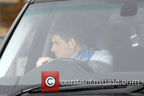 Leaving the Liverpool FC training ground in Melwood...