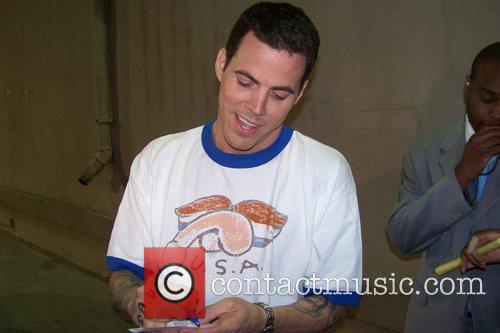 'Dancing with the Stars' castoff Steve-O, wearing a...