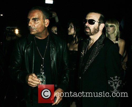 Christian Audigier and Dave Stewart leave the Sunset...