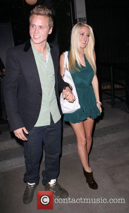 Leaving Lauren Conrad's party at STK