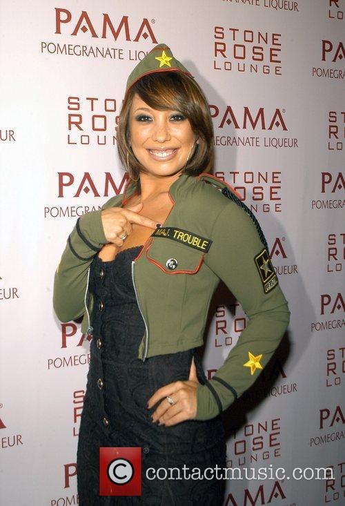 Cheryl Burke Kim Kardashian Hosts PAMA'S Halloween Masquerade...