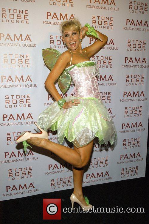 Kim Johnson Kim Kardashian Hosts PAMA'S Halloween Masquerade...