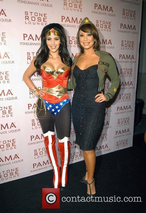 Kim Kardashian and Cheryl Burke 3