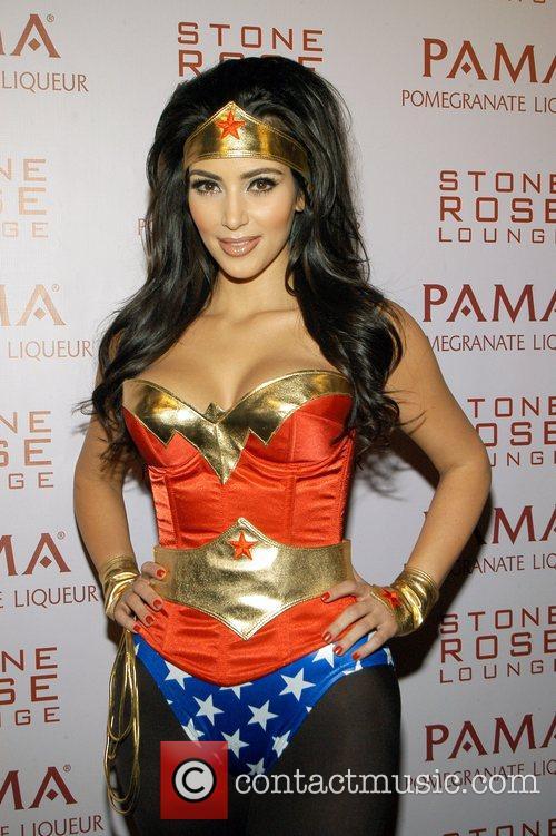 Kim Kardashian wonder woman