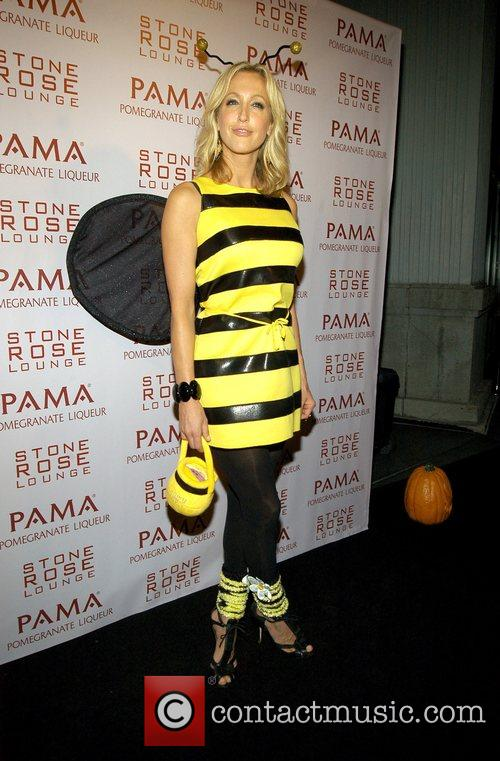 Lara Spencer Kim Kardashian Hosts PAMA'S Halloween Masquerade...