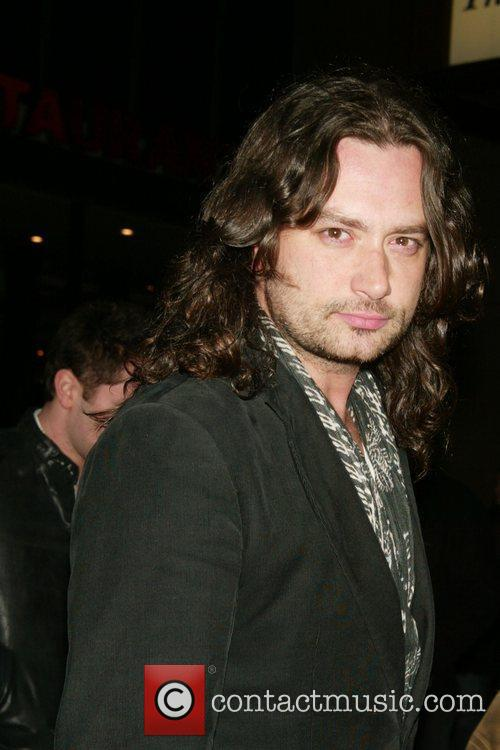 Constantine Maroulis Opening Night of the new Broadway...