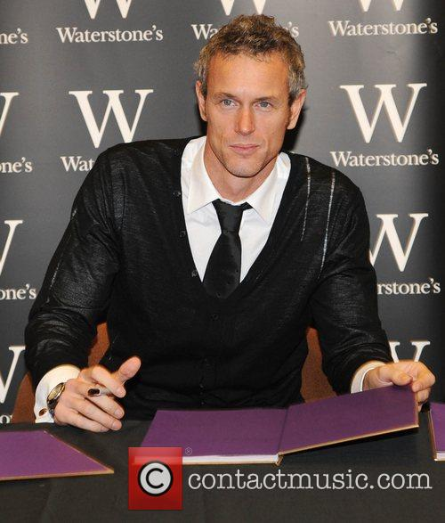 Mark Foster at a signing of the Strictly...
