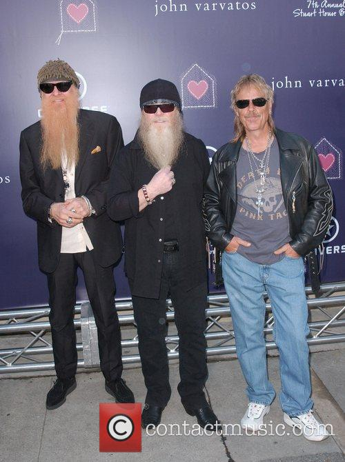 Billy Gibbons, Dusty Hill and Frank Beard 7th...