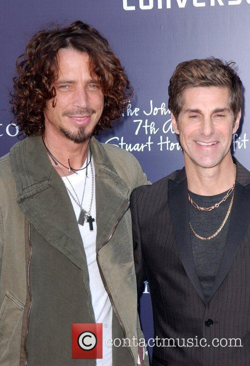 Chirs Cornel and Perry Farrell 7th Annual Stuart...