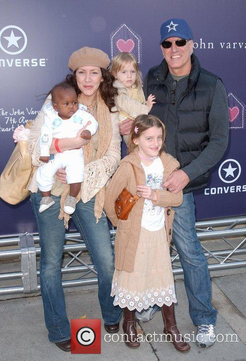Joely Fisher and family 7th Annual Stuart House...