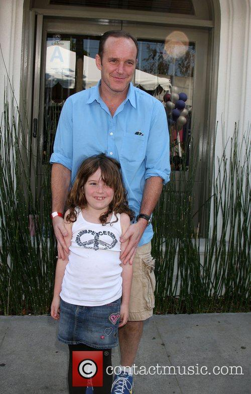 Clark Gregg and Stella Gregg 3