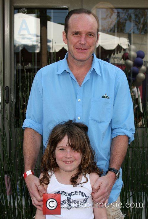 Clark Gregg and Stella Gregg 1