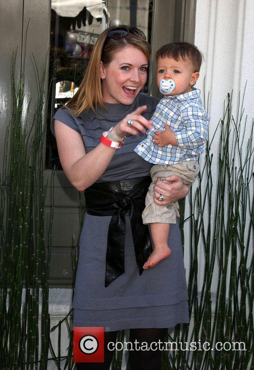 Melissa Joan Hart and Braydon Hart Wilkerson 5