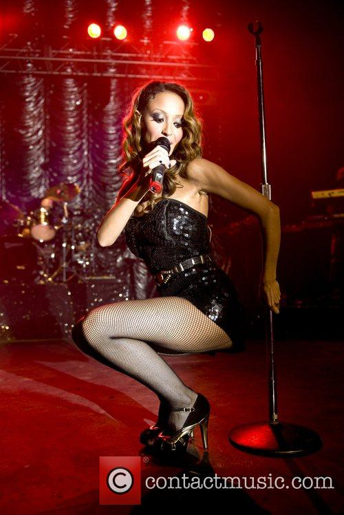 Amelle Berrabah Sugababes perform at the Forum as...