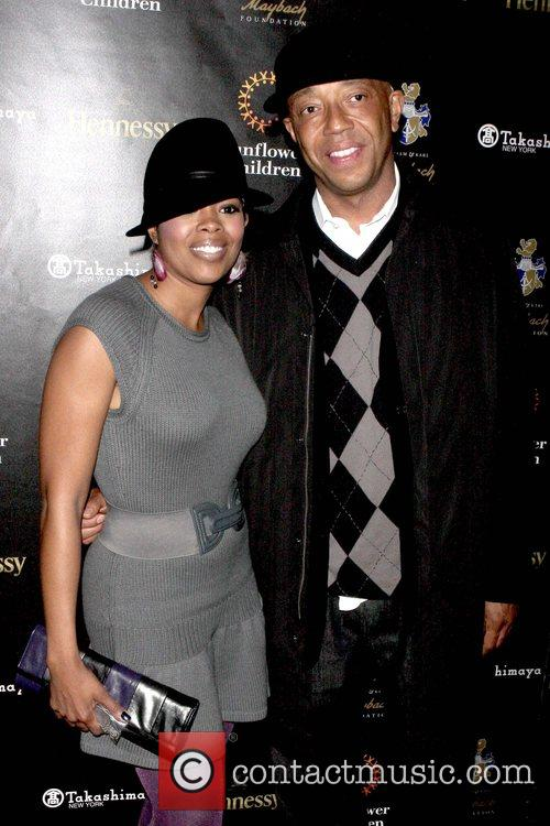 Malinda Williams and Russell Simmons 1