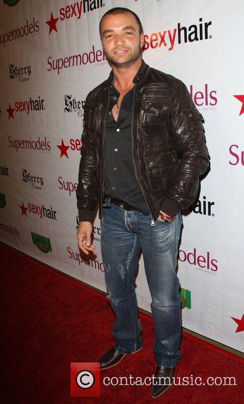 Nick Tarabay Supermodels Unlimited Magazine issue release party...