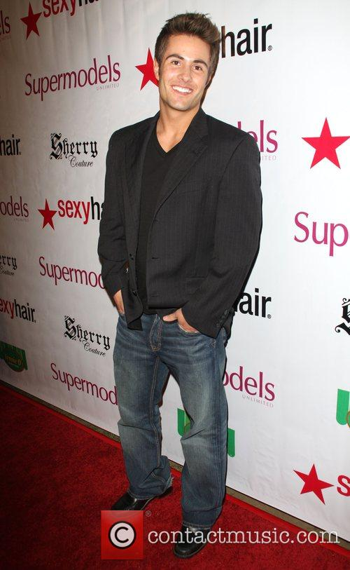 Paul Vandervort Supermodels Unlimited Magazine issue release party...