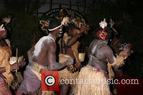 Gabon Dancers, Cbs and Survivor 2