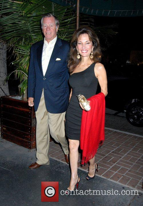 Susan Lucci with her husband Helmut Huber Arriving...