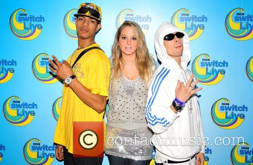 N-Dubz BBC Switch Live at the Hammersmith Apollo...