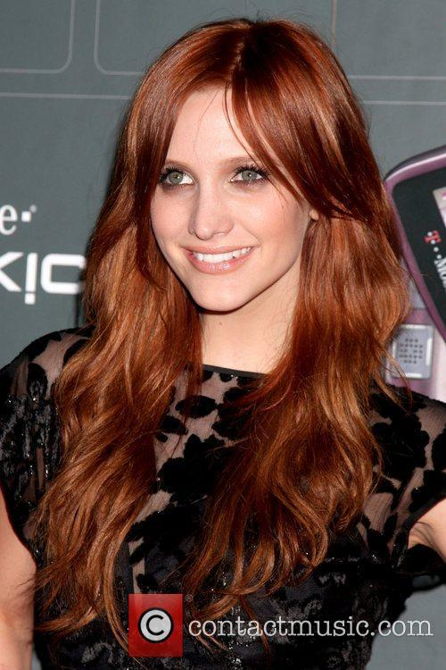 Ashlee Simpson-Wentz T-Mobile Sidekick LX launch held at...