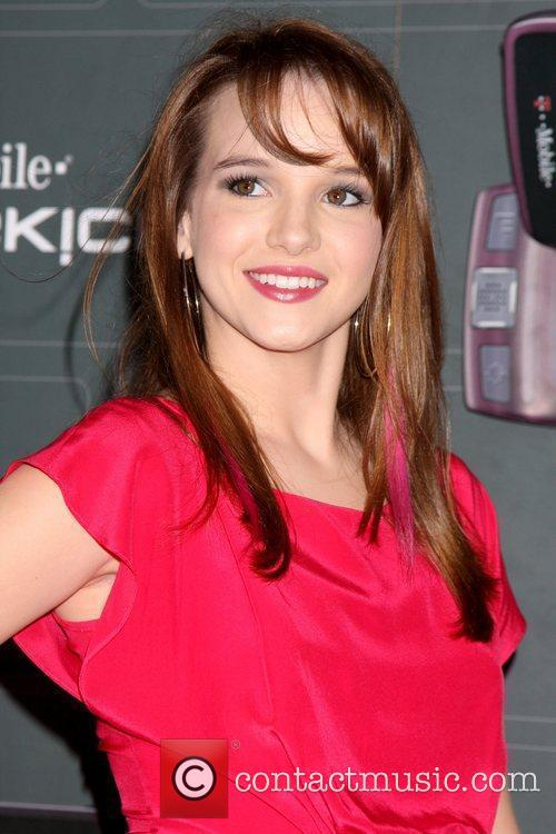 Kay Panabaker T-Mobile Sidekick LX launch held at...