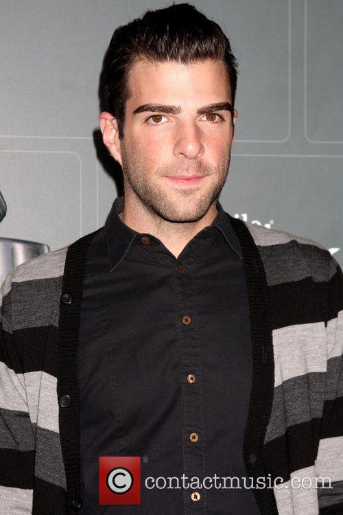 Zachary Quinto T-Mobile Sidekick LX launch held at...