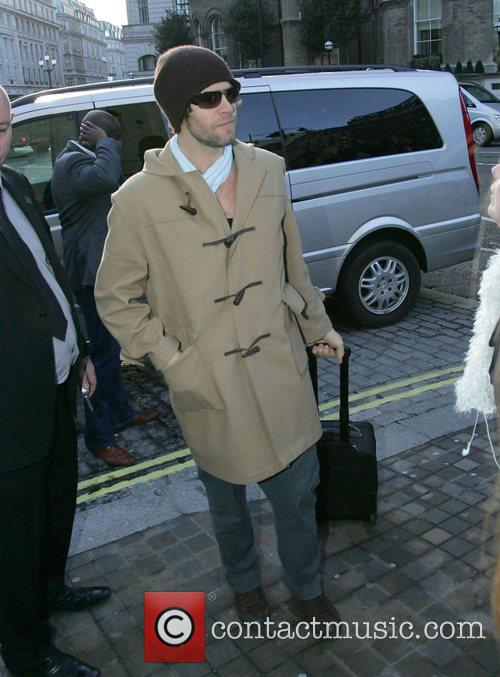 Howard Donald Take That members arriving at the...