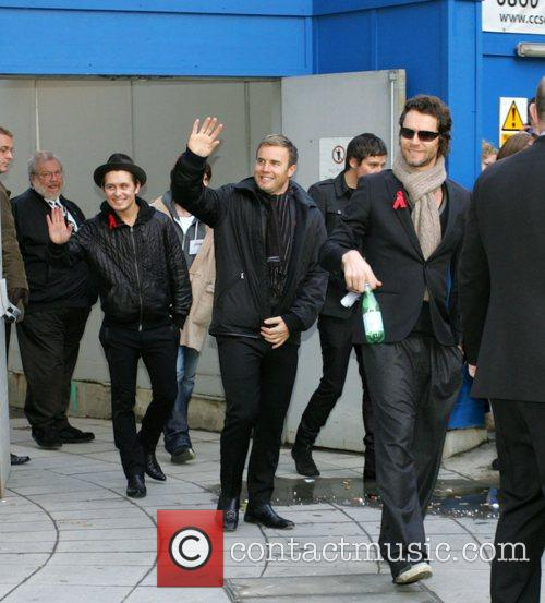 Mark Owen, Howard Donald, Jason Orange and Gary...