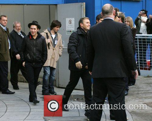 Mark Owen and Gary Barlow leaving the BBC...
