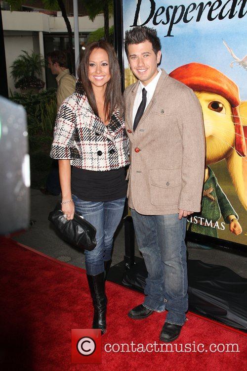 Brandon Michael Vayda and guest LA Premiere of...