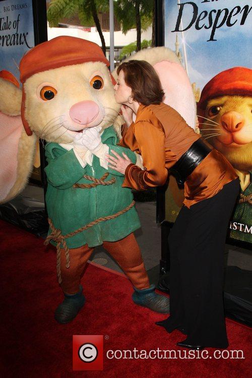Sigourney Weaver LA Premiere of The Tale of...