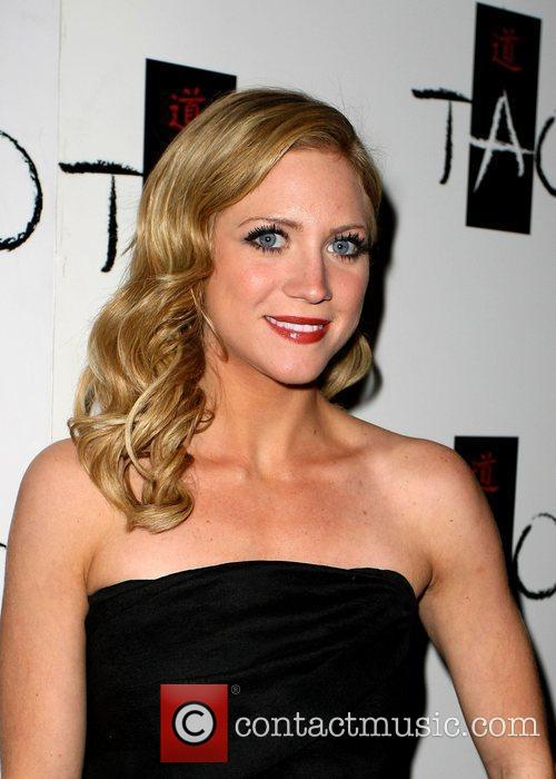 Brittany Snow celebrates her birthday at TAO night...