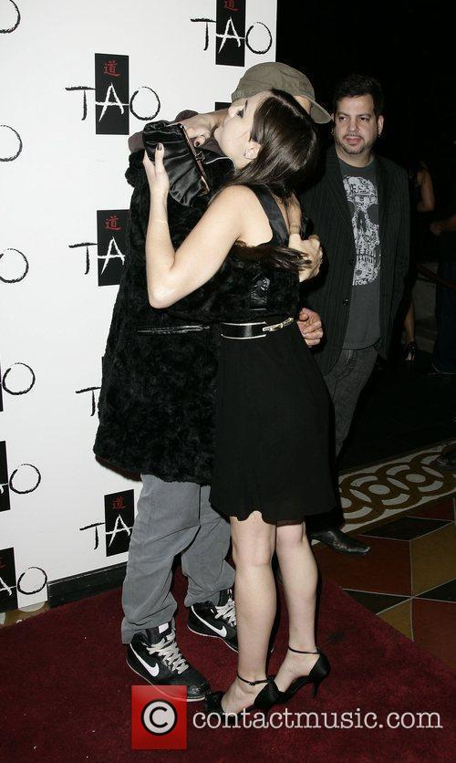 Sasha Grey and Billy Corrigan Sasha Grey celebrates...