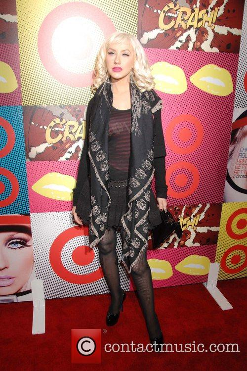Christina Aguilera The Target and Christina Aguilera celebration...