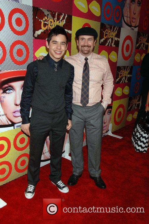 David Archuleta and Father The Target and Christina...