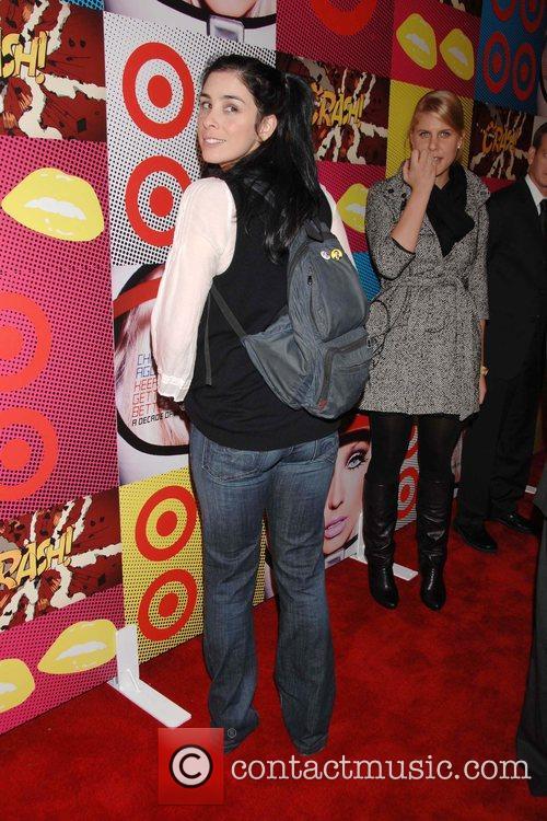 Sarah Silverman The Target and Christina Aguilera celebration...