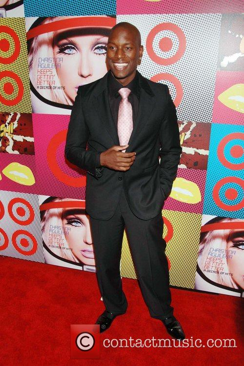 Tyrese The Target and Christina Aguilera celebration of...