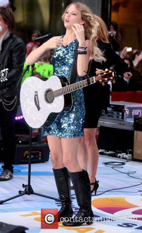 Performs on NBC's 'Today' show concert series at...
