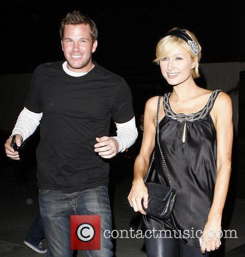 Paris Hilton leaving Teddy's Nightclub with Amanda Bynes...