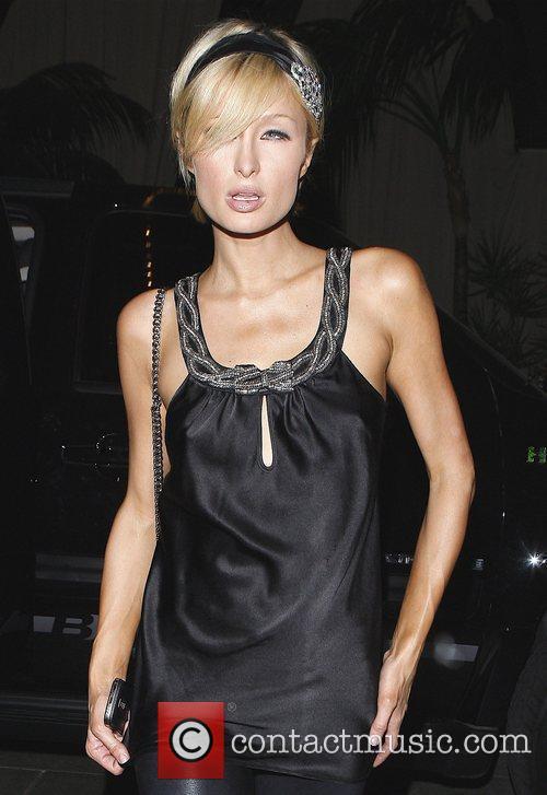 Paris Hilton at Teddy's Nightclub Los Angeles, California