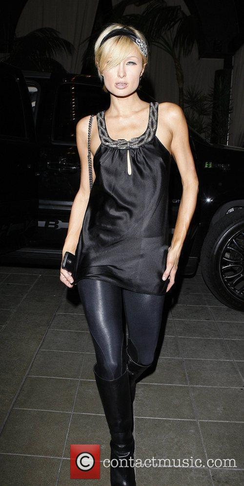 Paris Hilton at Teddy's Nightclub