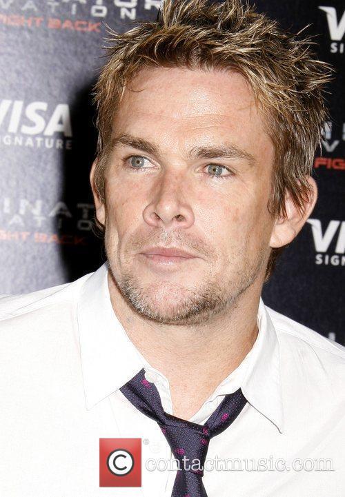 Mark McGrath Los Angeles Premiere of 'Terminator Salvation'...